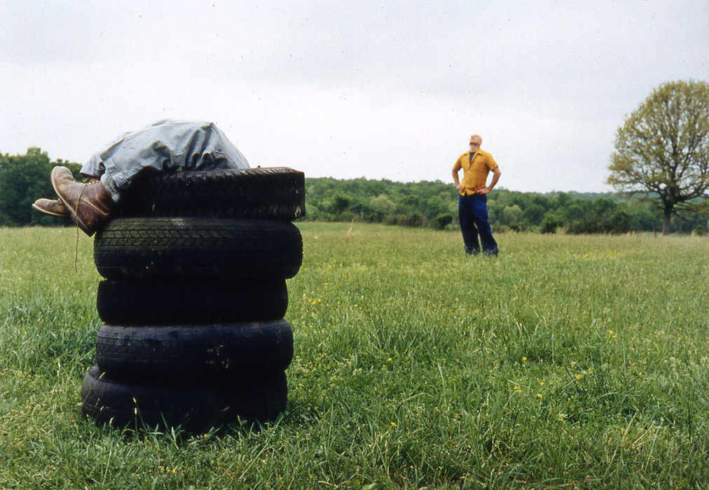 IN BETWEEN Untitled #10 [tires], 1999, C-print.