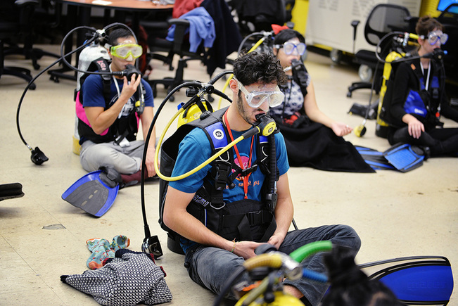 HOPE GINSBURG Physical Education: Land Dive Team, 2015
