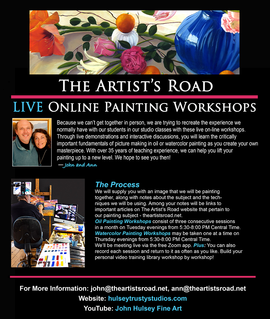 Live Online Workshops with John Hulsey and Ann Trusty