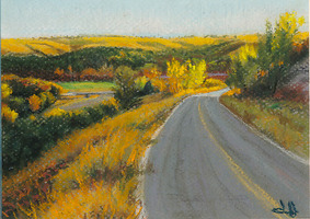 HULSEY TRUSTY STUDIOS Small Paintings pastel