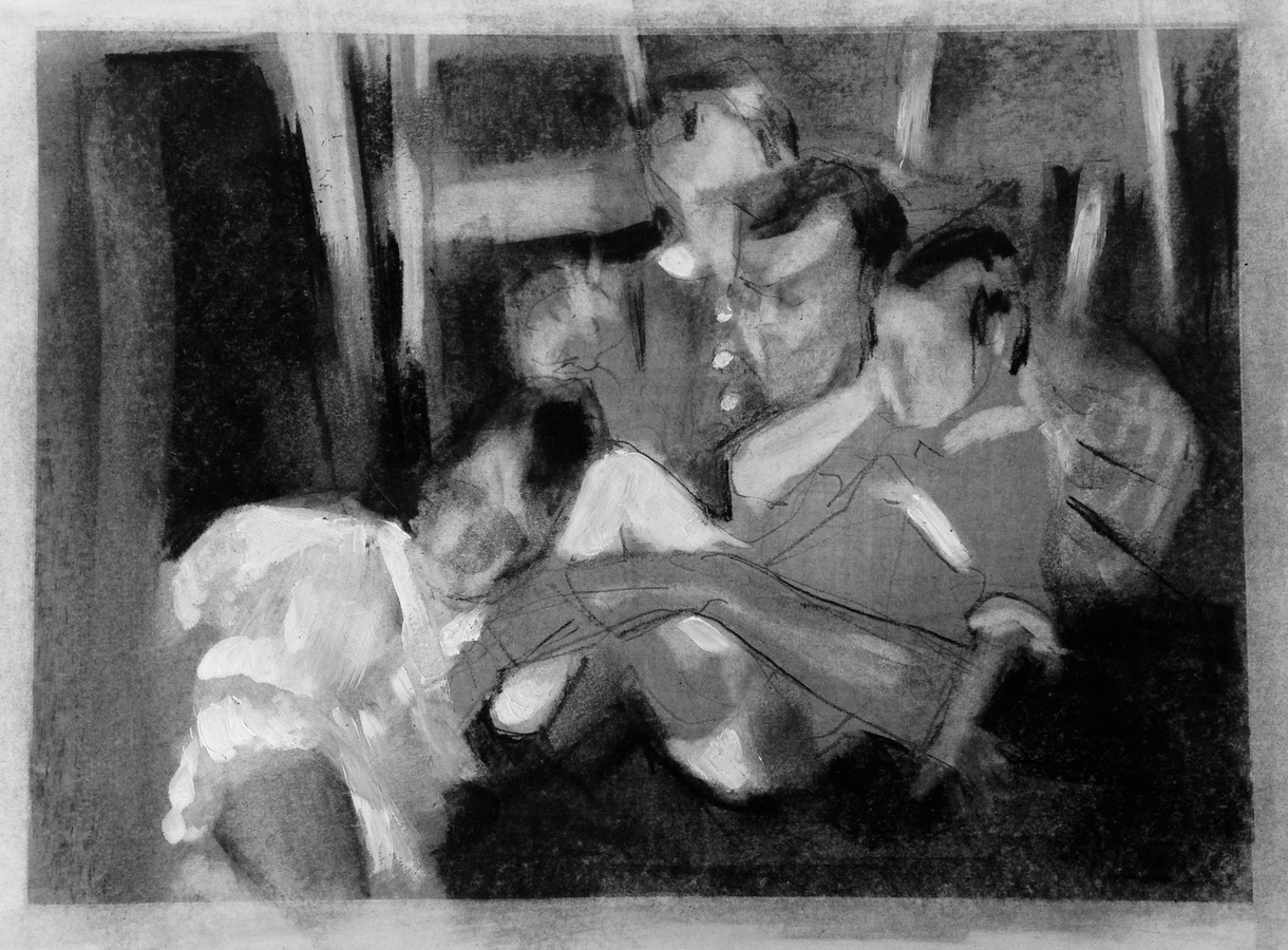 Current Artwork Dad with Girls