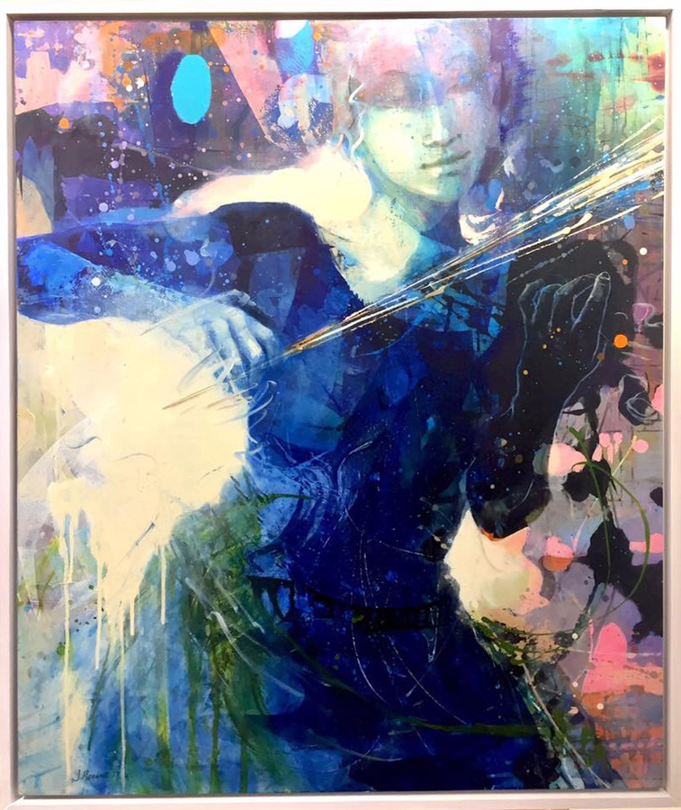 MIXED MEDIA Discipline and Passion: commissioned by the Arts Foundation of Cape Cod for the 32nd annual Boston Pops by the sea concert