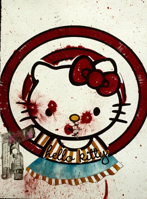Jaime Scholnick : Hello Kitty Gets A Mouth