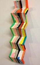 Jaime Scholnick Newest Sculptural Work (late 2012-2013 Acrylic and Flashe on polystyrene