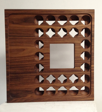 Jaime Scholnick Newest Sculptural Work (late 2012-2013 walnut