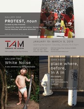 Jaime Scholnick Protest, noun @Torrance Art Museum Jan 19-March 9, 2019