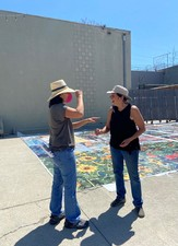 Jaime Scholnick Tile Mural Commission: LAC+USC Restorative Care Village photo