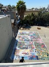 Jaime Scholnick Tile Mural Commission: LAC+USC Restorative Care Village Glazed Porcelain Ceramic tiles