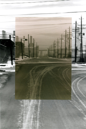 James Barth Gallery 1 1993-95 Photographic construction, B&W/Sepia prints