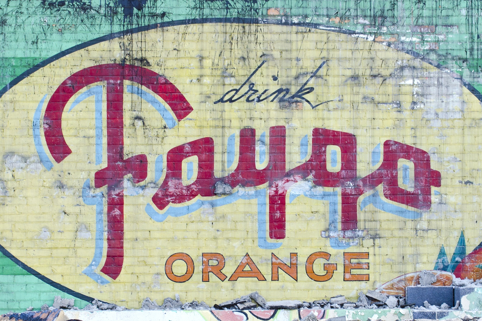 Signs Vintage Faygo Ghost Sign