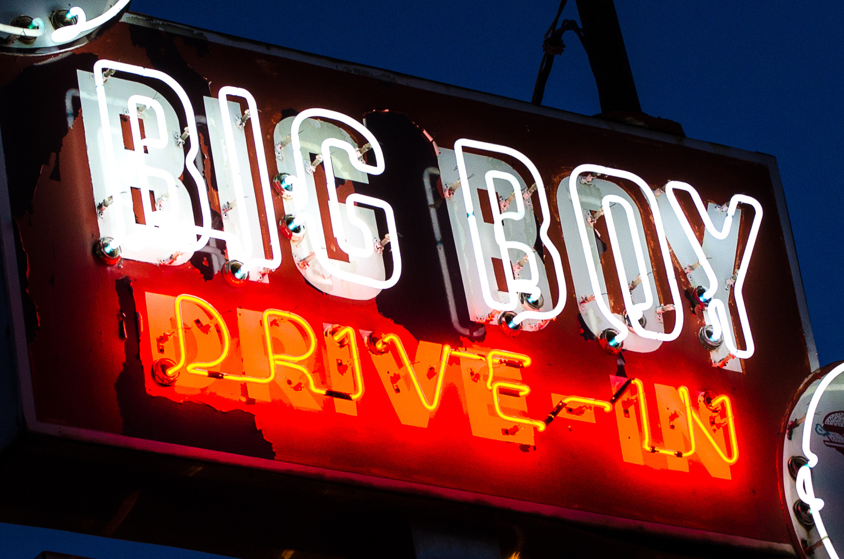 Suburbia and Mich-elaneous Livonia, Michigan - Big Boy Neon No. 2