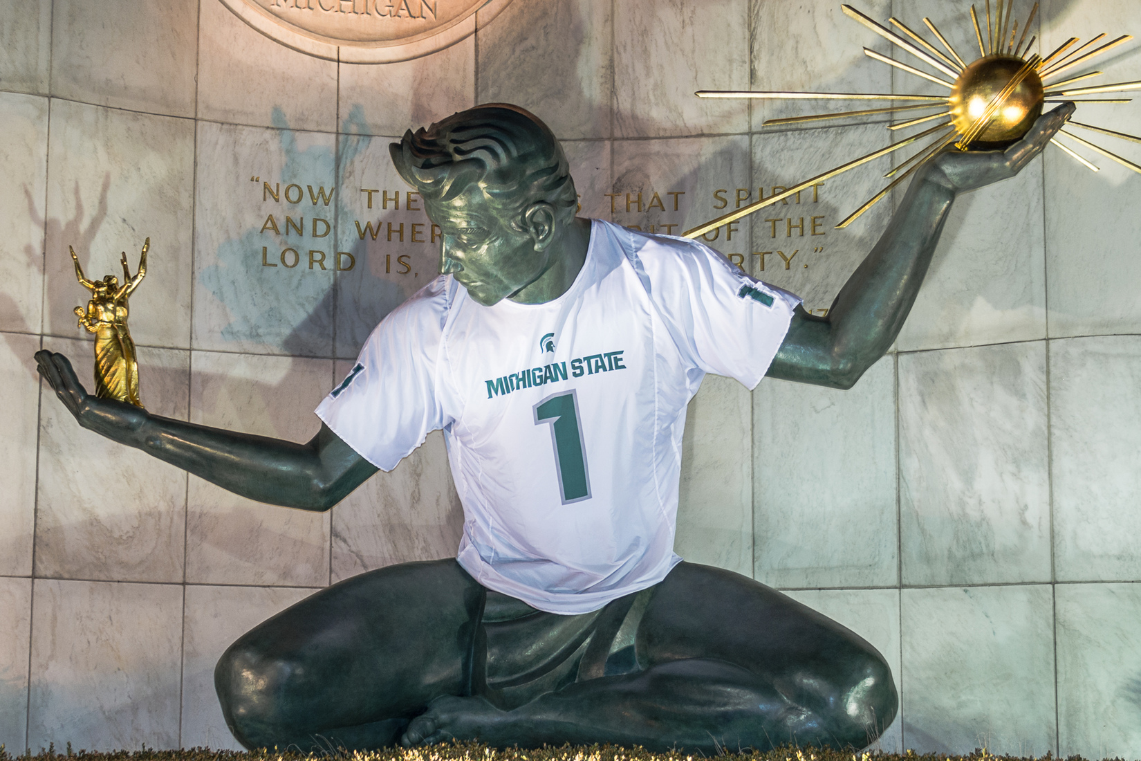 Detroit Sports Spirit of Detroit - Michigan State University