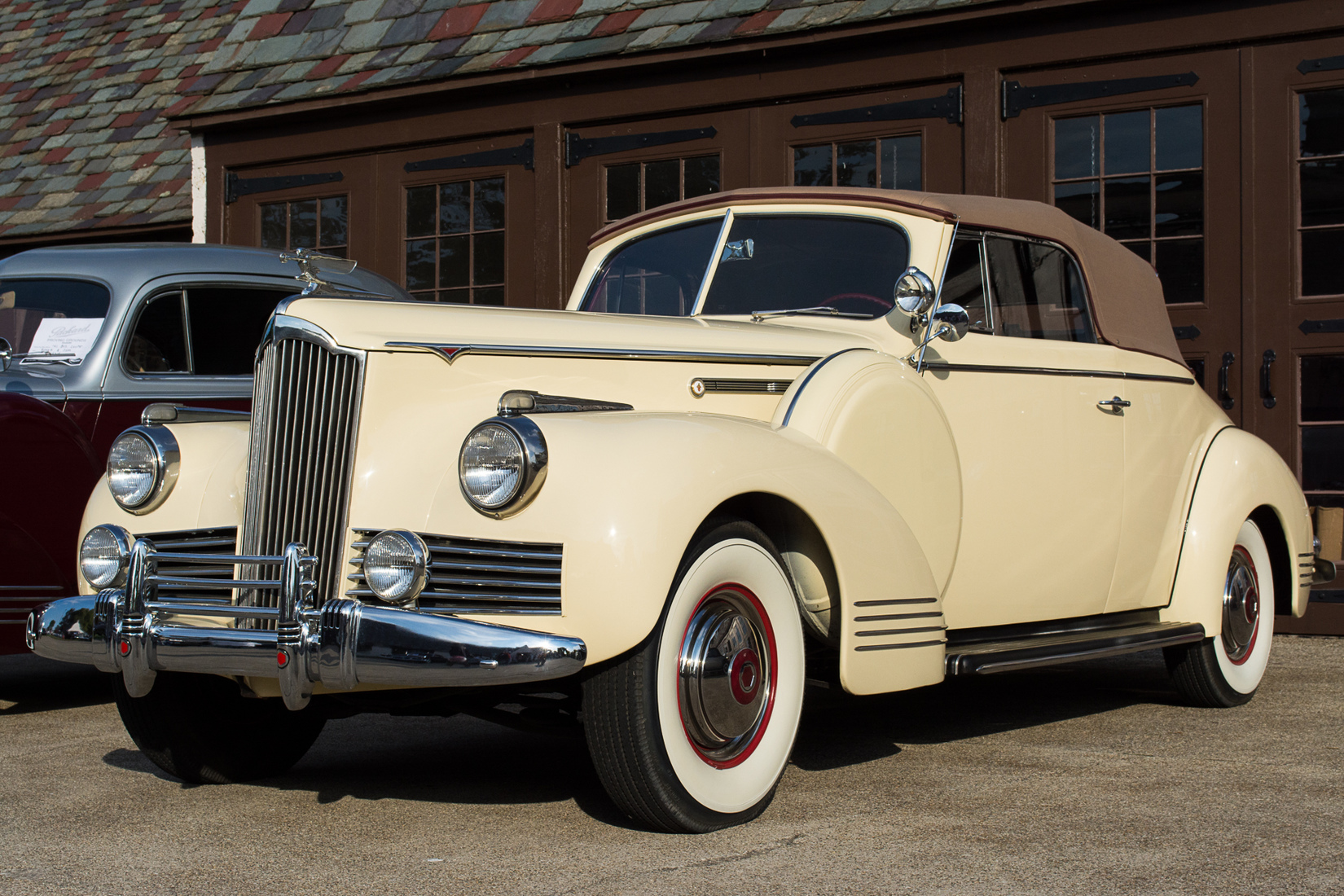 Automotive 1942 Packard Convertible Coupe