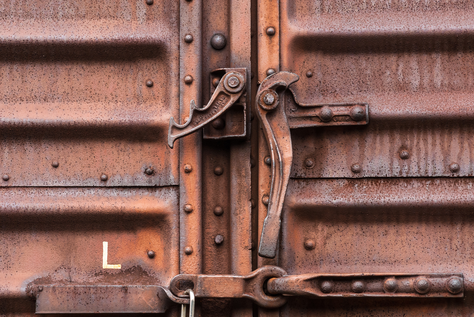 Iron, Steel and Steam Box Car Doors No. 1