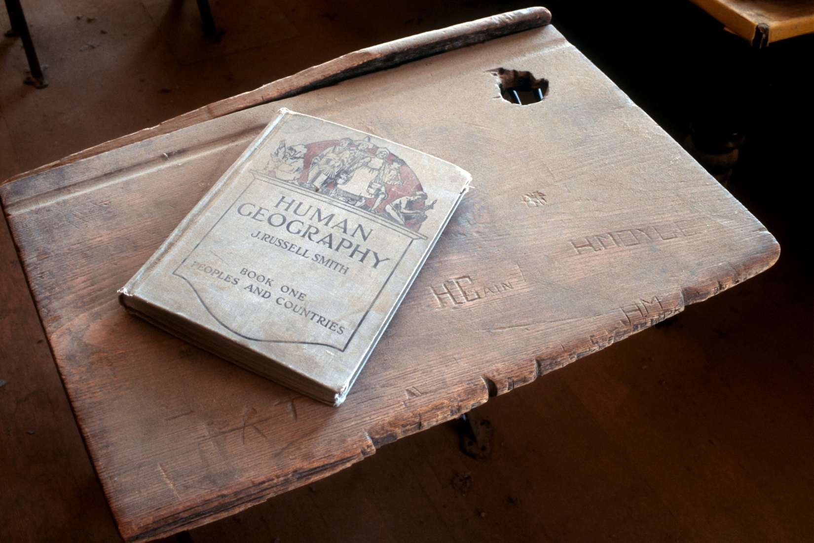 Bodie Ghost Town Student Desk