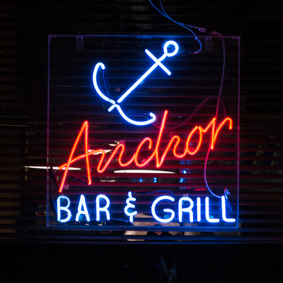 Neon Anchor Bar - Detroit