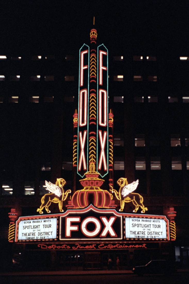 Theatres Fox Theatre - Detroit