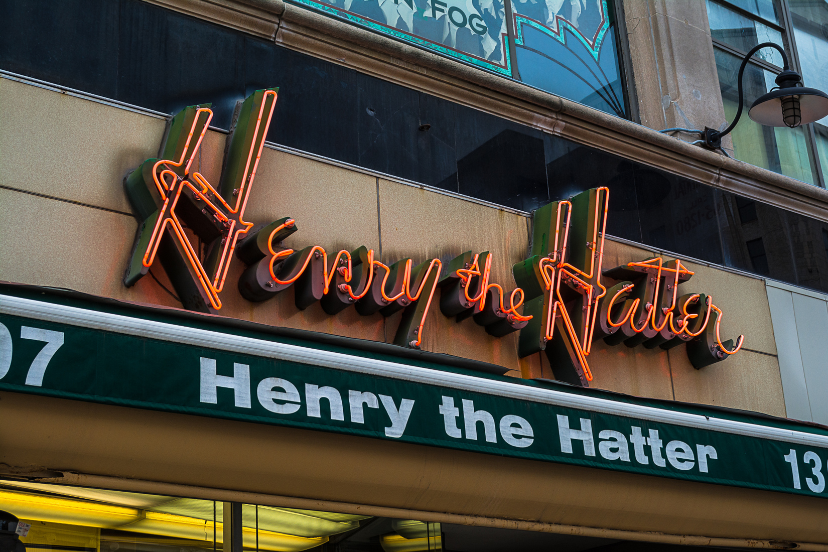 Neon Henry the Hatter