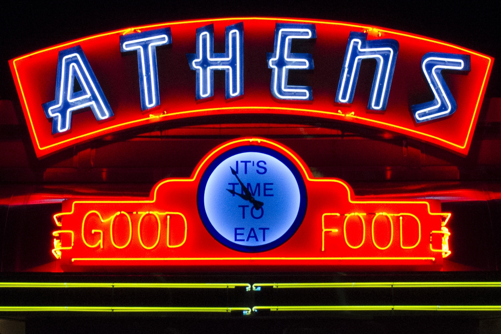 Neon Athens - It's Time to Eat