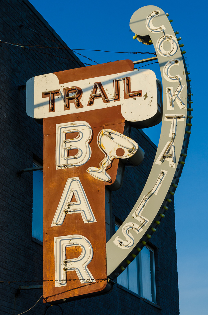 Neon Trail Bar