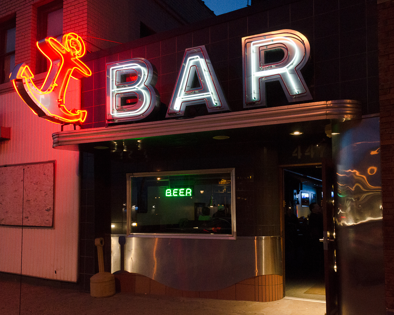 Neon Anchor Bar No. 1 - Grand Rapids, Michigan