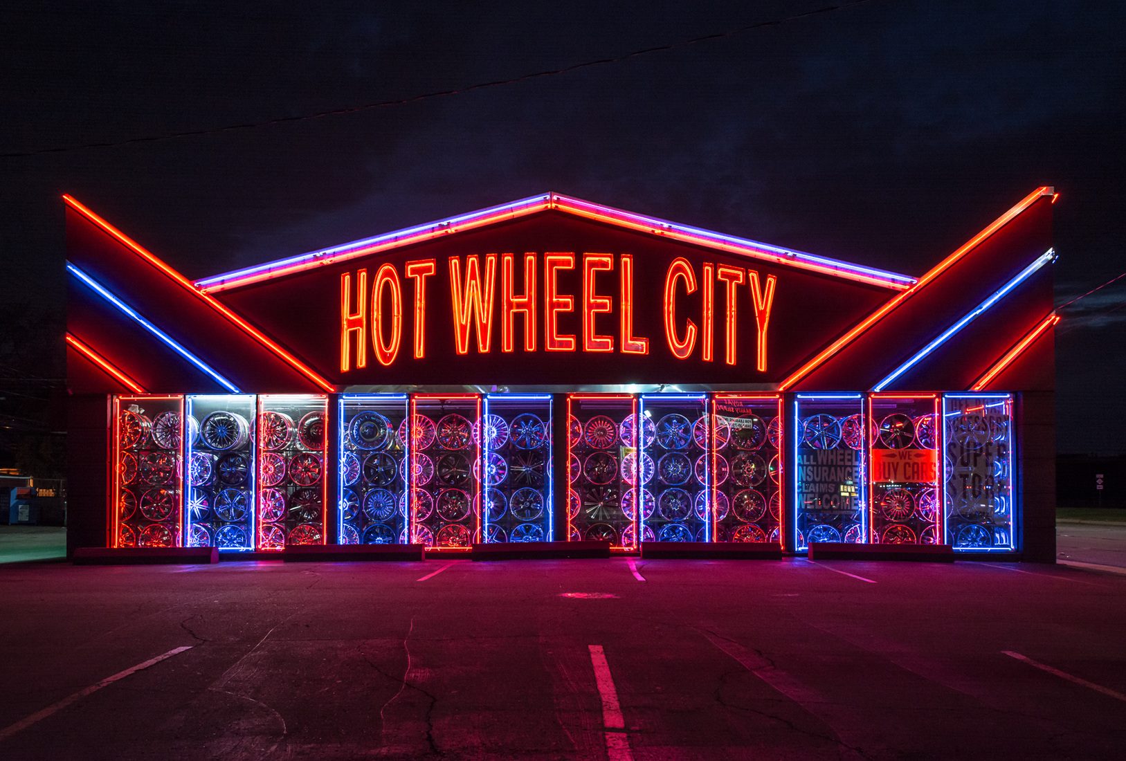 Neon Hot Wheel City No. 1a