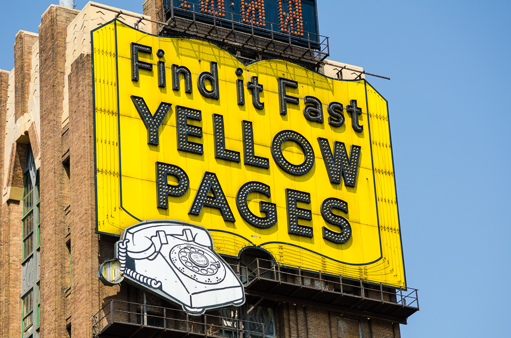 Neon Yellow Pages