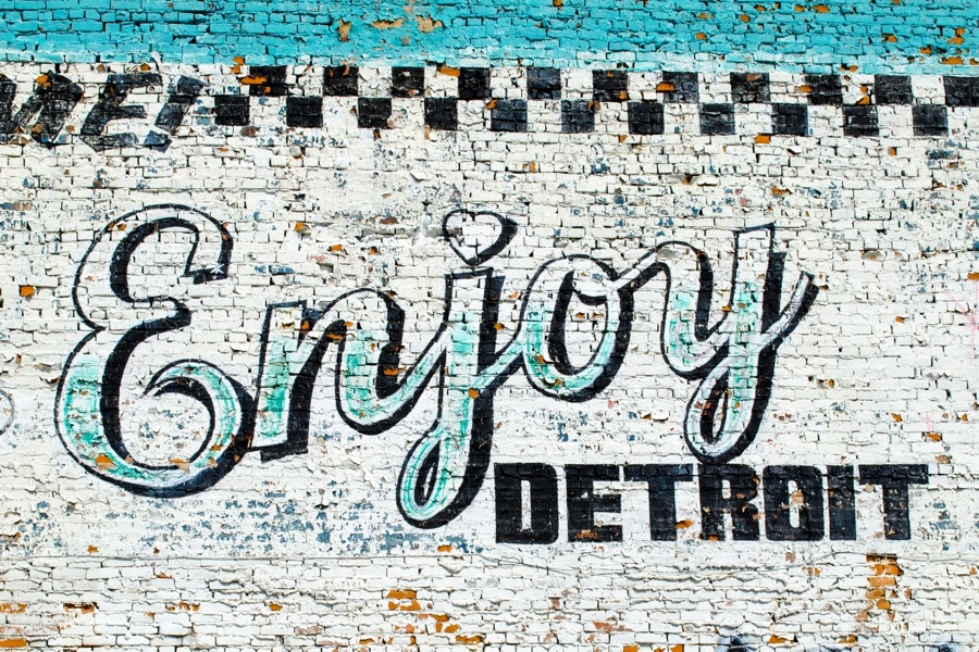 James C. Ritchie Photographic Art 2017 Detroit Calendar July