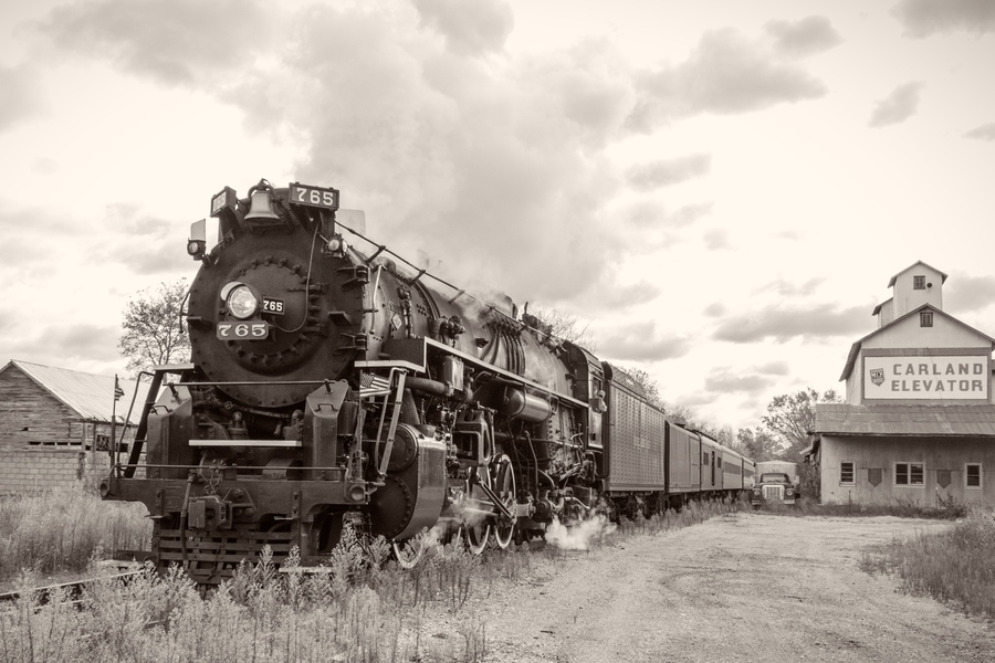 SALE Nickel Plate Road 765 at Carland, Michigan