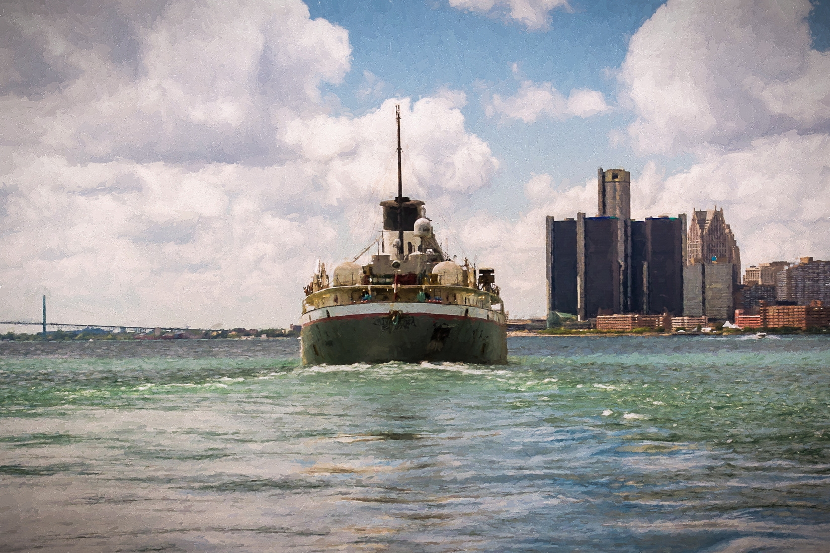 Detroit River Cuyahoga Downbound