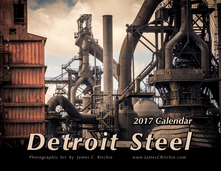 James C. Ritchie - Photographic Art 2017 Steel Calendar