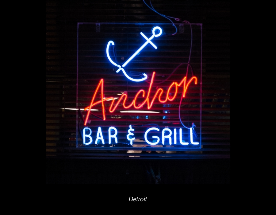 James C. Ritchie Photographic Art 2018 Neon Calendar January