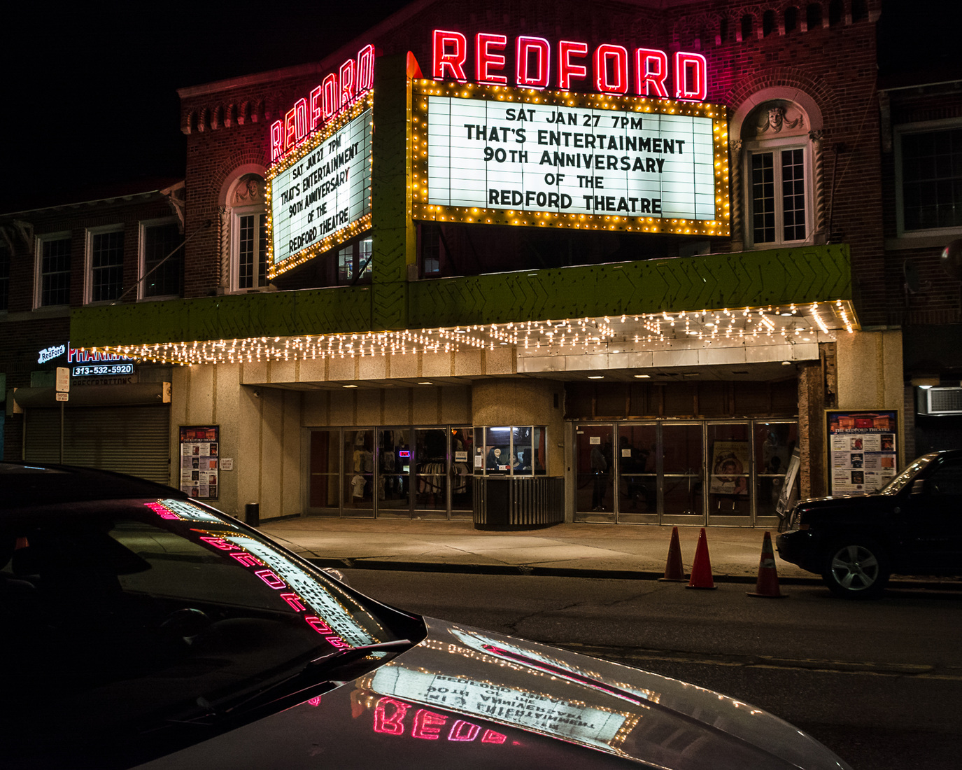 Theatres Redford Theatre 90th Anniversary