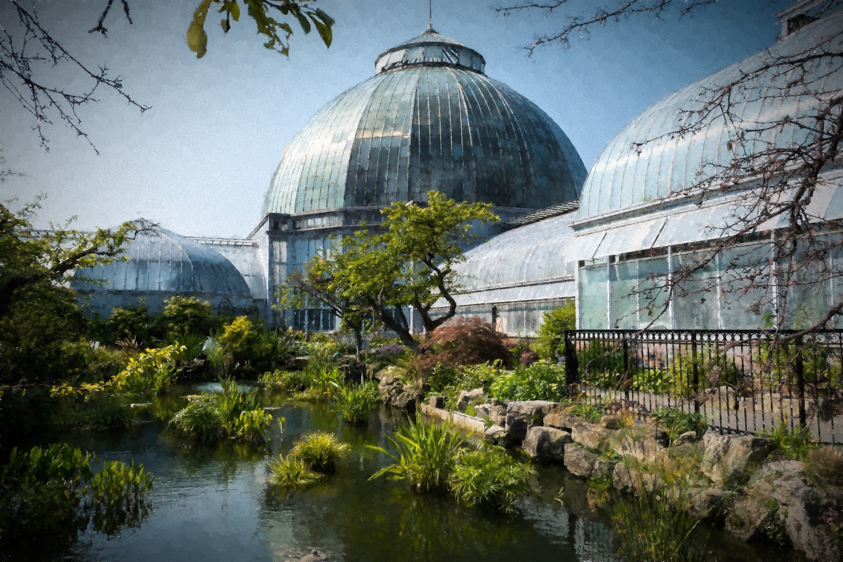 Belle Isle Anna Scripps Whitcomb Conservatory