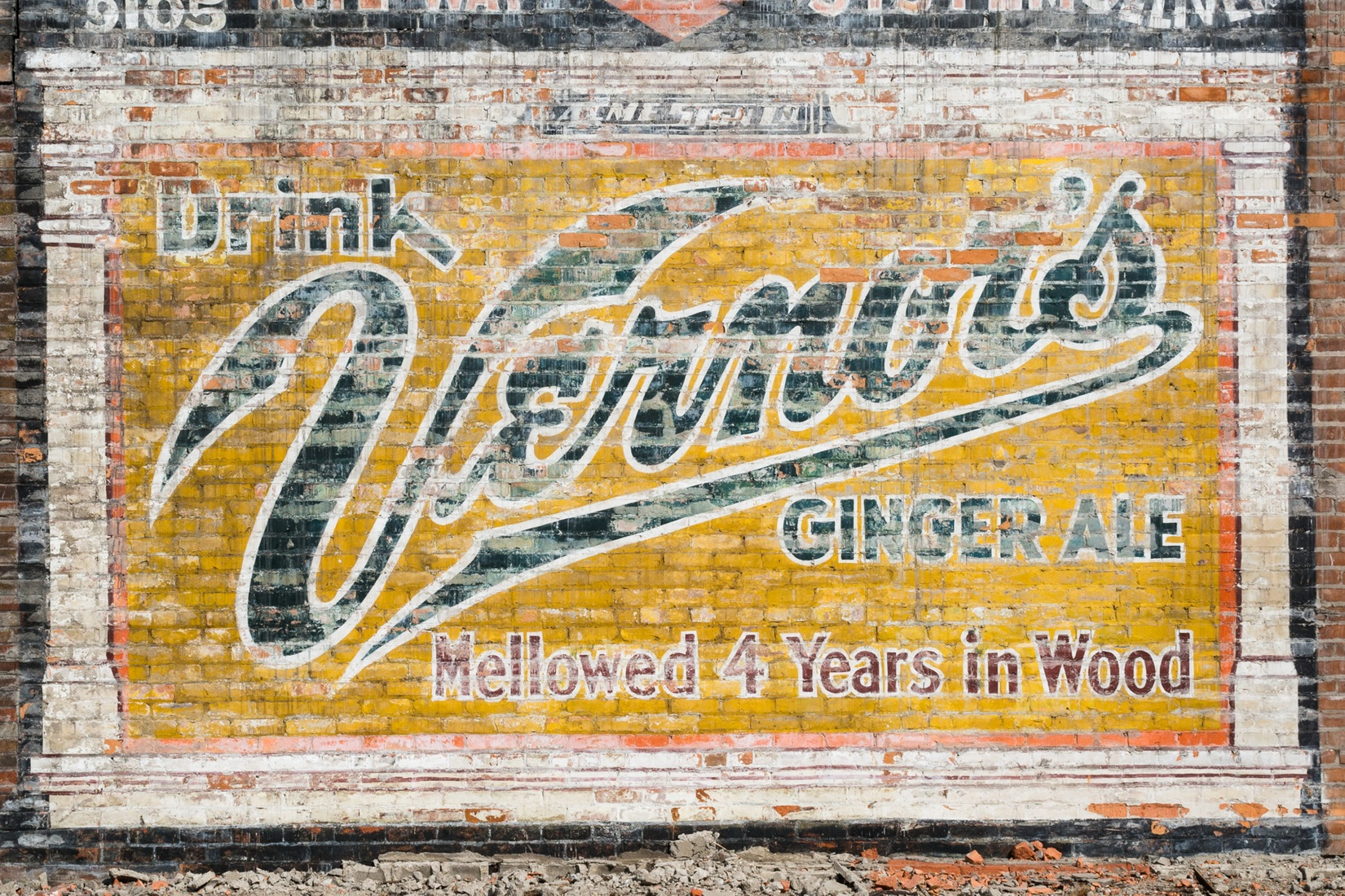 Signs Vernor's Ghost Sign No. 2