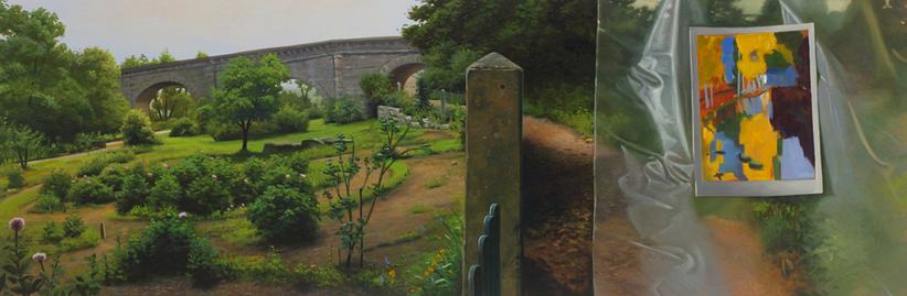 James Mullen Thresholds Oil on Canvas