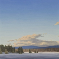James Urbaska Sky Series #1 oil on linen