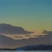 James Urbaska Sky Series #2 oil on linen