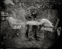 Untitled - Summer Plates  gelatin silver contact print from glass plate negative