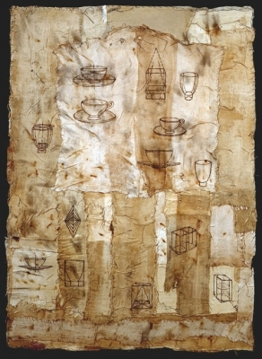 Jane Deering Gallery Dawn Southworth Mixed media on paper