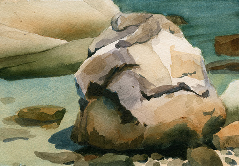 Jane Deering Gallery Points of View: Michael Porter | Chris Pullman Watercolor