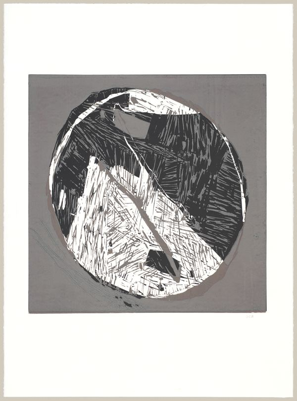 Jane Deering Gallery Geoffrey Bayliss Linocut print (unique)