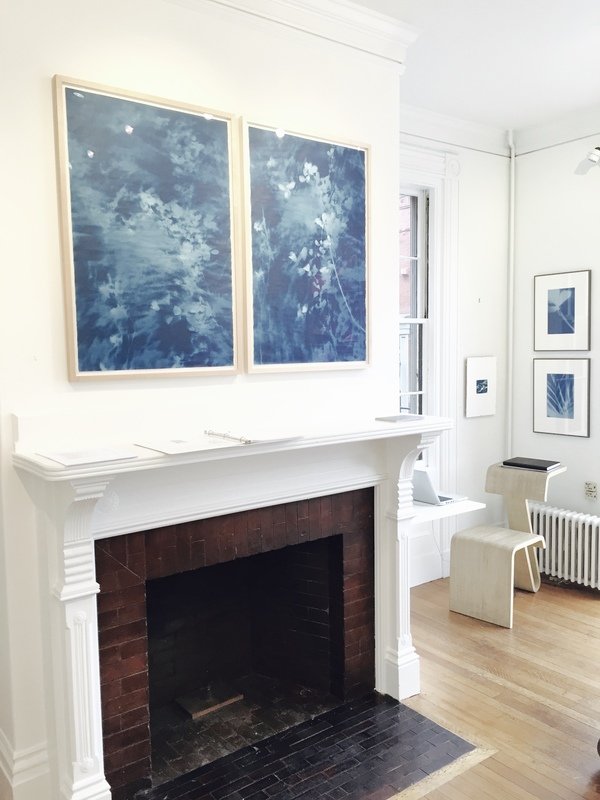 Jane Deering Gallery True Blue, and Black | Alternative Photography : Tom Fels & Gail Pine cyanotype