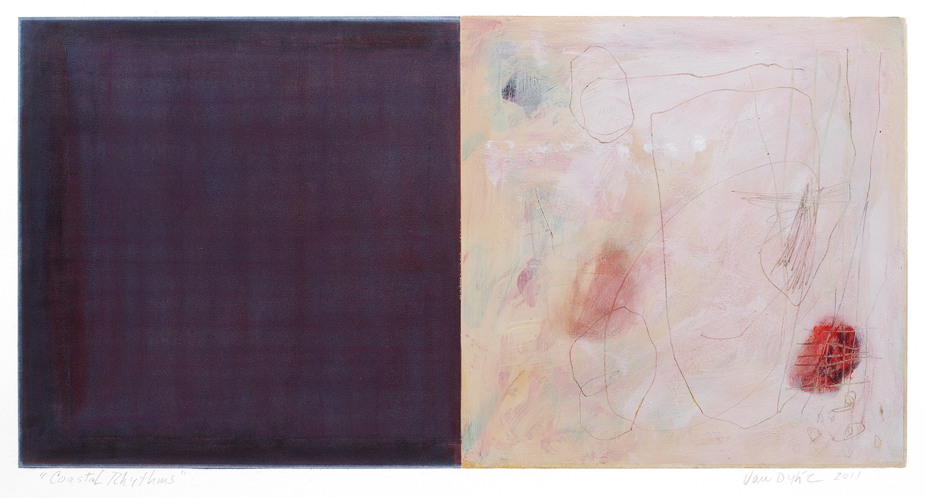Jane Deering Gallery Juni Van Dyke | Painting is music you can see Pastel and mixed media on paper