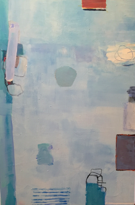 Jane Deering Gallery Juni Van Dyke | Painting is music you can see Acrylic and mixed media on canvas