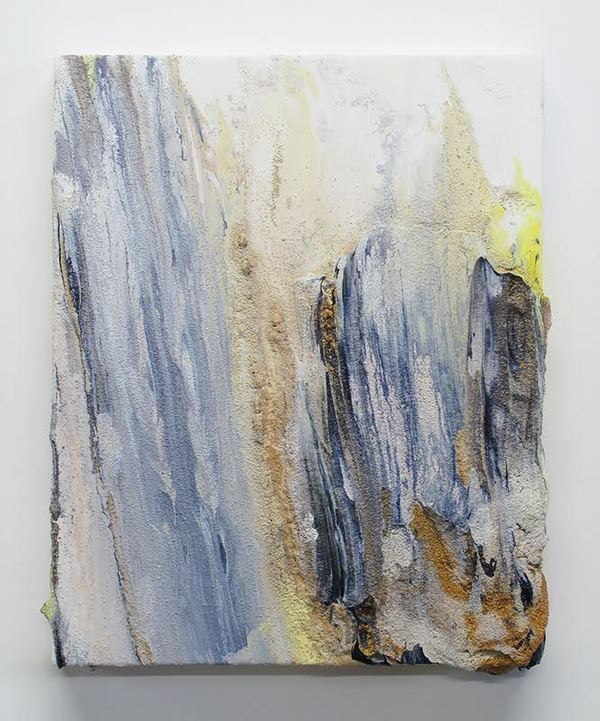Jane Deering Gallery Mary Bucci McCoy | Terra Recognita Acrylic, iridescent acrylic and silica sand on panel