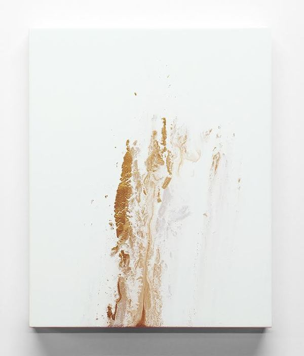 Jane Deering Gallery Mary Bucci McCoy | Terra Recognita Acrylic and iridescent acrylic on panel