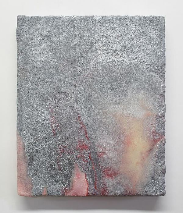 Jane Deering Gallery Mary Bucci McCoy | Terra Recognita Acrylic, iridescent acrylic and marble on panel