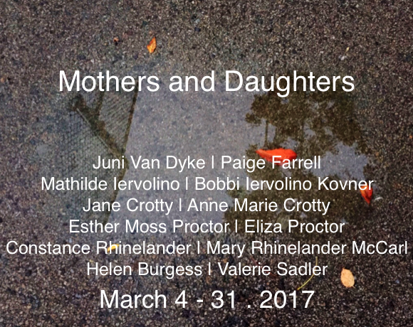 Jane Deering Gallery Mothers and Daughters Mixed media