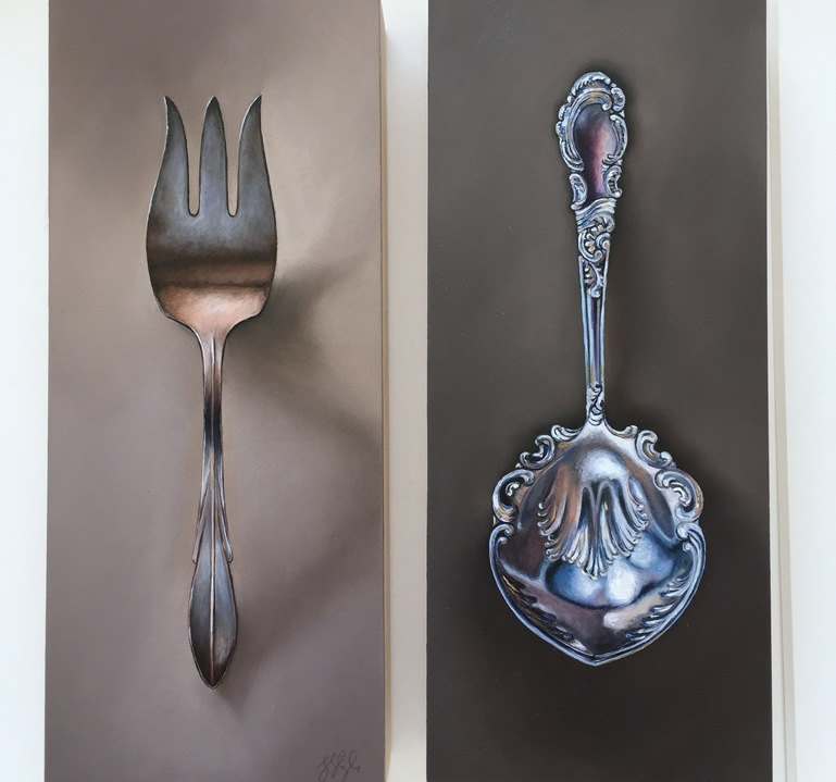 Jane Deering Gallery Silver and Grey | Leslie Lewis Sigler & Paul Cary Goldberg